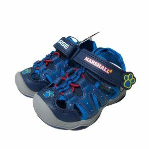 NWT Paw Patrol Baby Boys Shoes Sandals Blue Size 5